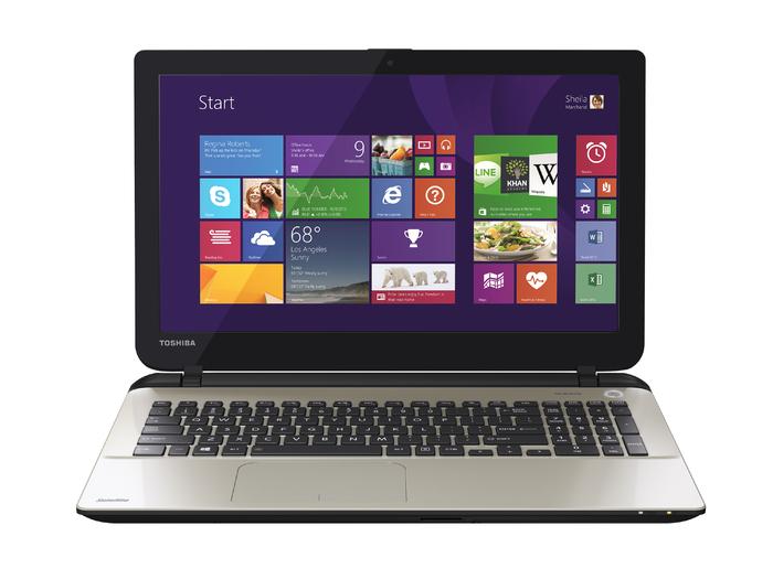 "Toshiba Satellite L50-B-1NT 1.7GHz i3-4005U 15.6"" 1366 x 768Pixel Grigio Computer portatile"