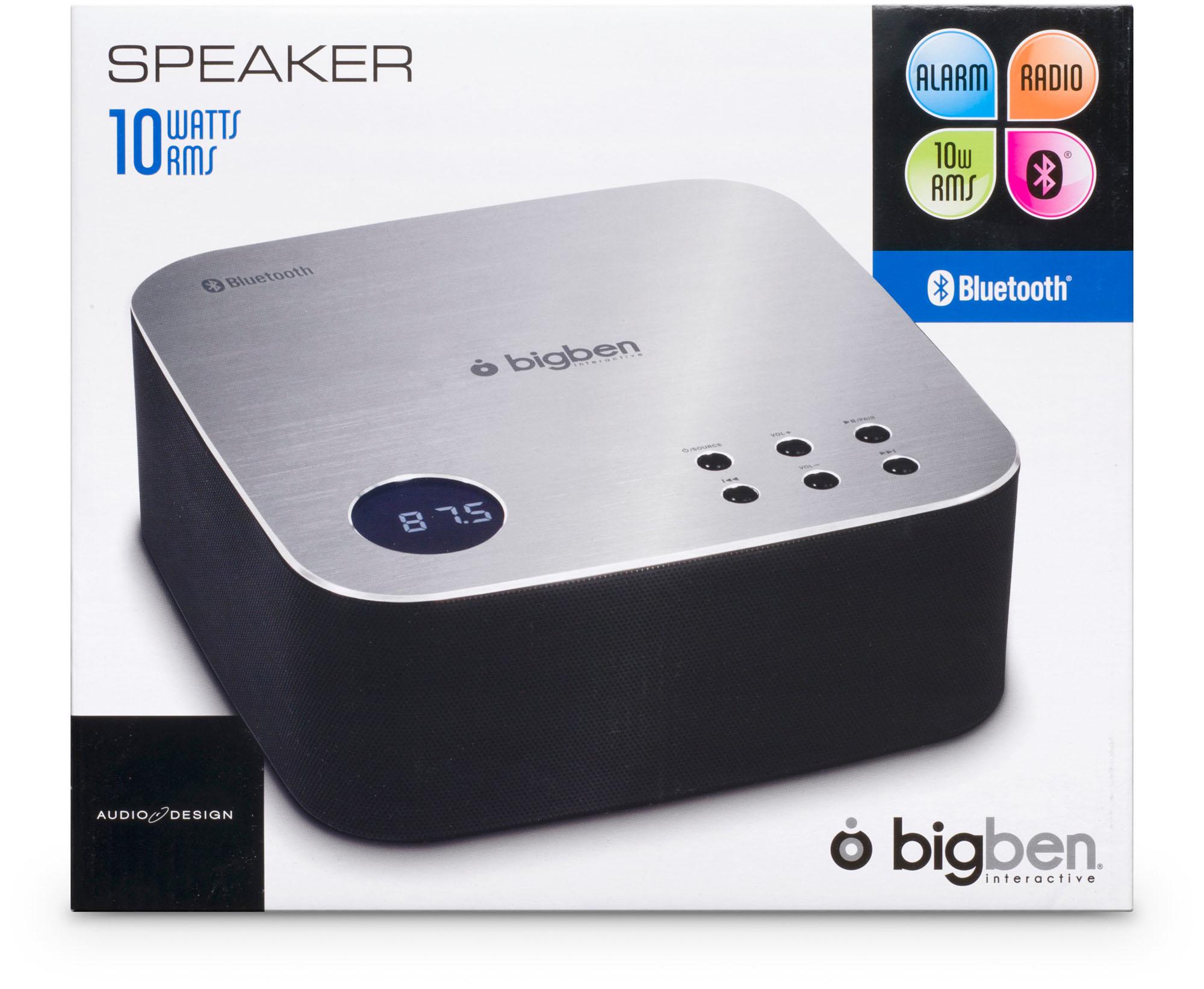 Bigben Interactive BT04SN Portatile Nero, Argento radio