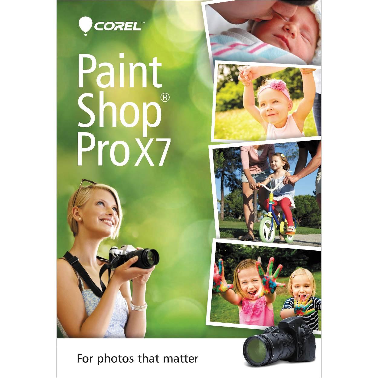 Corel PaintShop Pro X7, Upg Corp 5-50