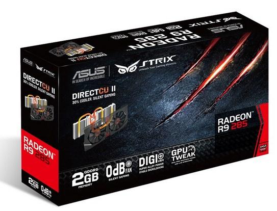 ASUS 90YV0771-M0NA00 Radeon R9 285 2GB GDDR5 scheda video