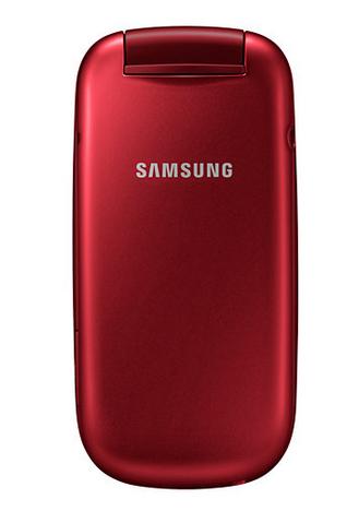 """Samsung GT-E1270 1.77"""" 82.9g Rosso"""