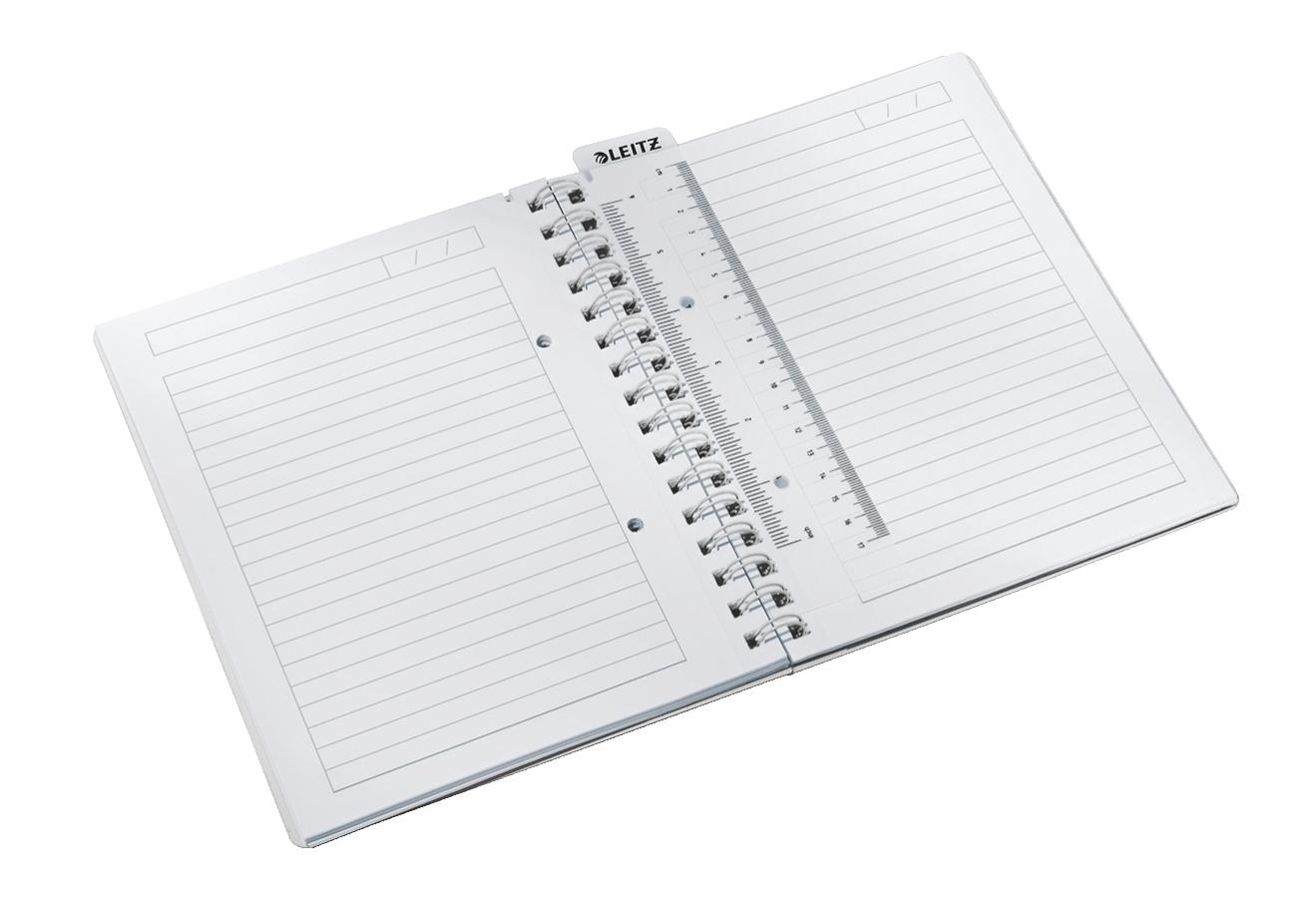 Leitz WOW A5 80fogli Metallico, Arancione quaderno per scrivere
