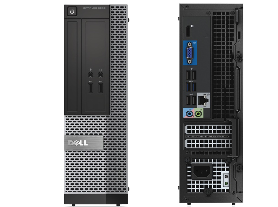 DELL OptiPlex 3020 SFF I5/3.5 4GB 500GB DVDR DISC PROD SPCL SOURCING SEE NOTES 3.3GHz i5-4590 SFF Nero, Argento PC