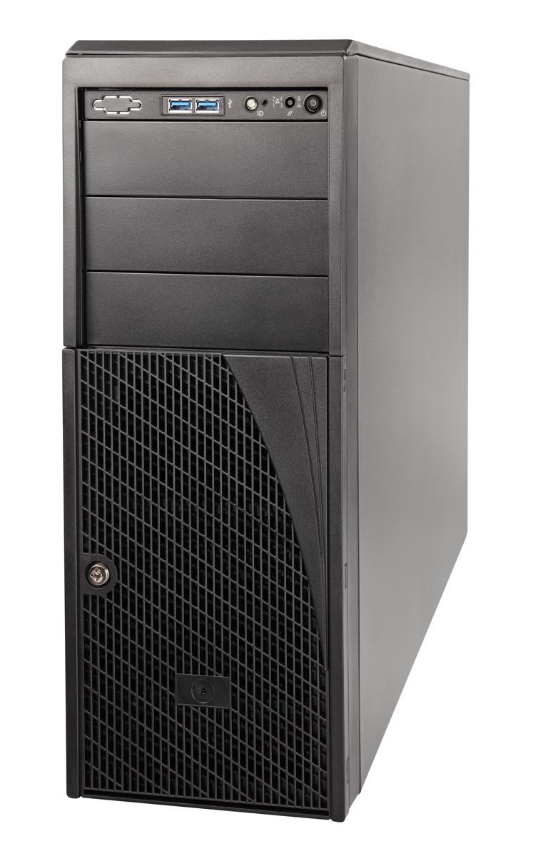 Intel P4304XXMUXX Portabagagli Nero vane portacomputer