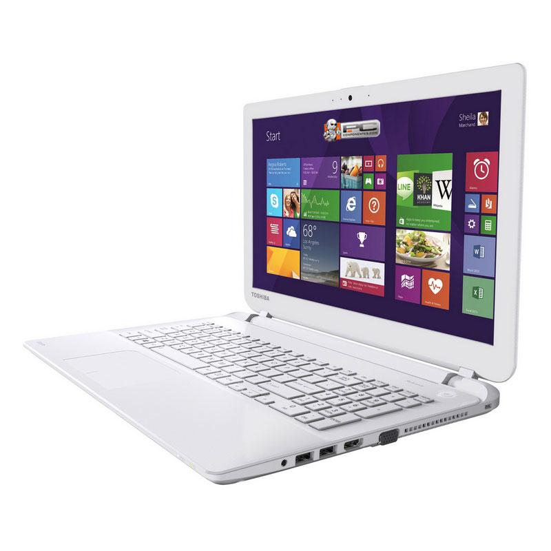 "Toshiba Satellite L50-B-1D5 1.7GHz i3-4005U 15.6"" 1366 x 768Pixel Bianco Computer portatile"