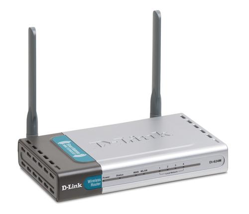D-Link DI-624M Nero, Acciaio inossidabile router wireless