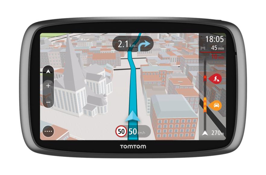 "TomTom GO 610 Fisso 6"" Touch screen 292g Nero, Argento navigatore"