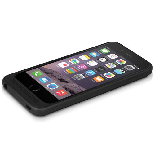 """Macally MPCP6M30 4.7"""" Cover Nero custodia per cellulare"""