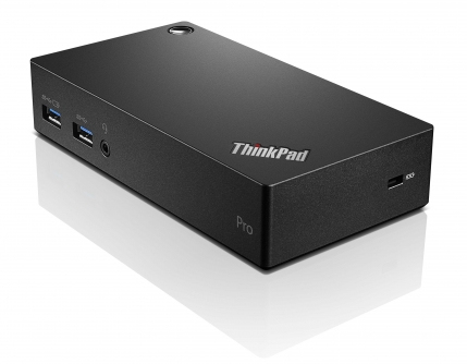 Lenovo ThinkPad USB 3.0 Pro Dock USB 3.0 (3.1 Gen 1) Type-A Black