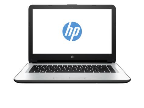 "HP 14-ac022tu 1.9GHz 3825U 14"" 1366 x 768Pixel Nero, Argento Computer portatile"