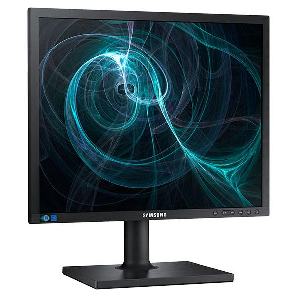 """Samsung S19E450BR 19"""" TN Nero monitor piatto per PC LED display"""