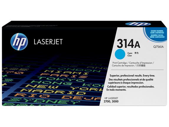 HP 314A Toner laser 3500pagine Ciano