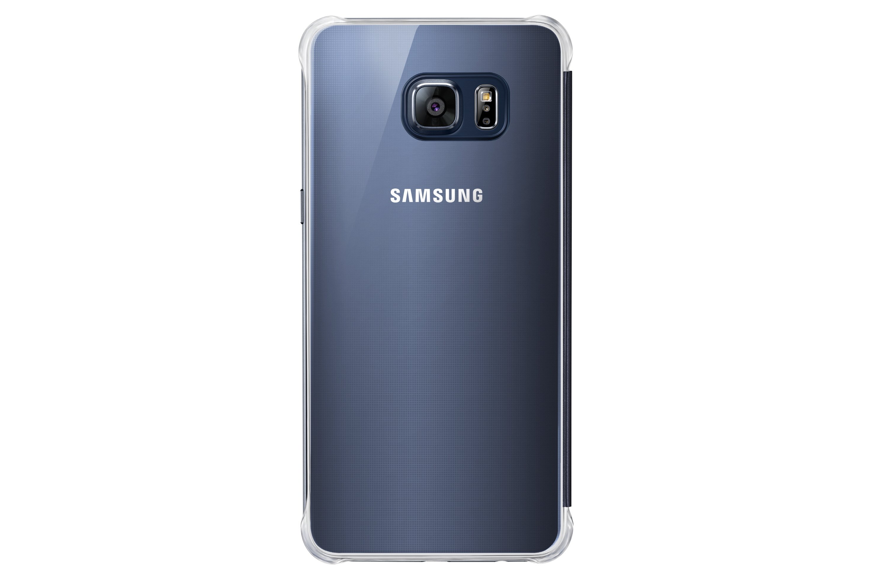 Samsung Clear View Cover Cover Nero, Blu