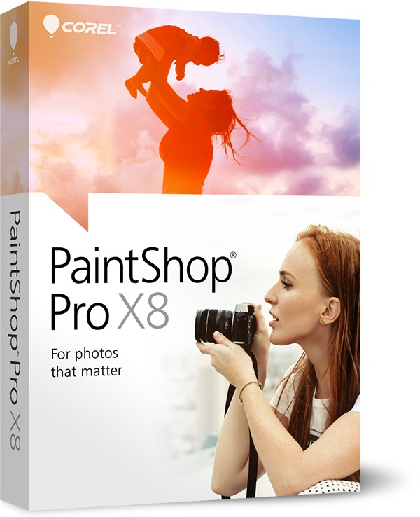 Corel PaintShop Pro X8, EDU, 1-4U