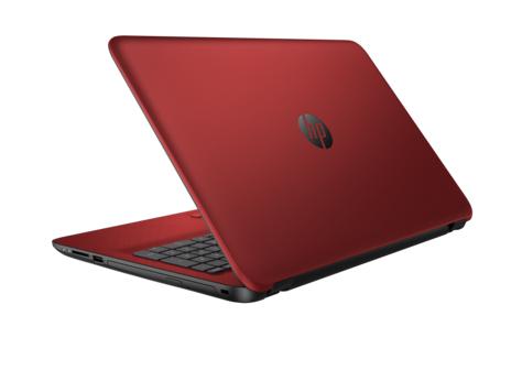 "HP 15-ac125tx 2.2GHz i5-5200U 15.6"" 1366 x 768Pixel Rosso Computer portatile"
