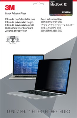 3M Filtro Privacy per Apple Macbook da 12 pollici