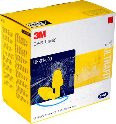 3M XA007701908 Reusable ear plug Blu, Giallo 1pezzo(i) tappo per orecchie