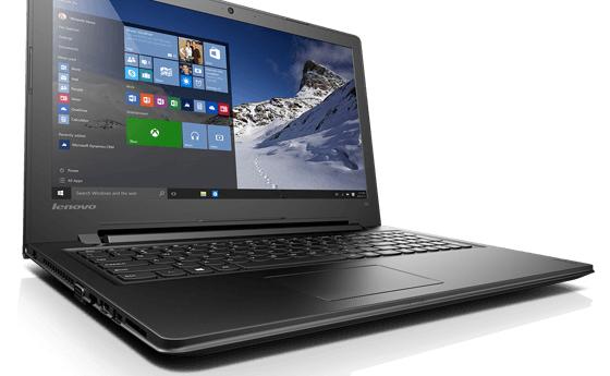 "Lenovo IdeaPad 300 15 1.6GHz N3150 15.6"" 1366 x 768Pixel Nero Computer portatile"