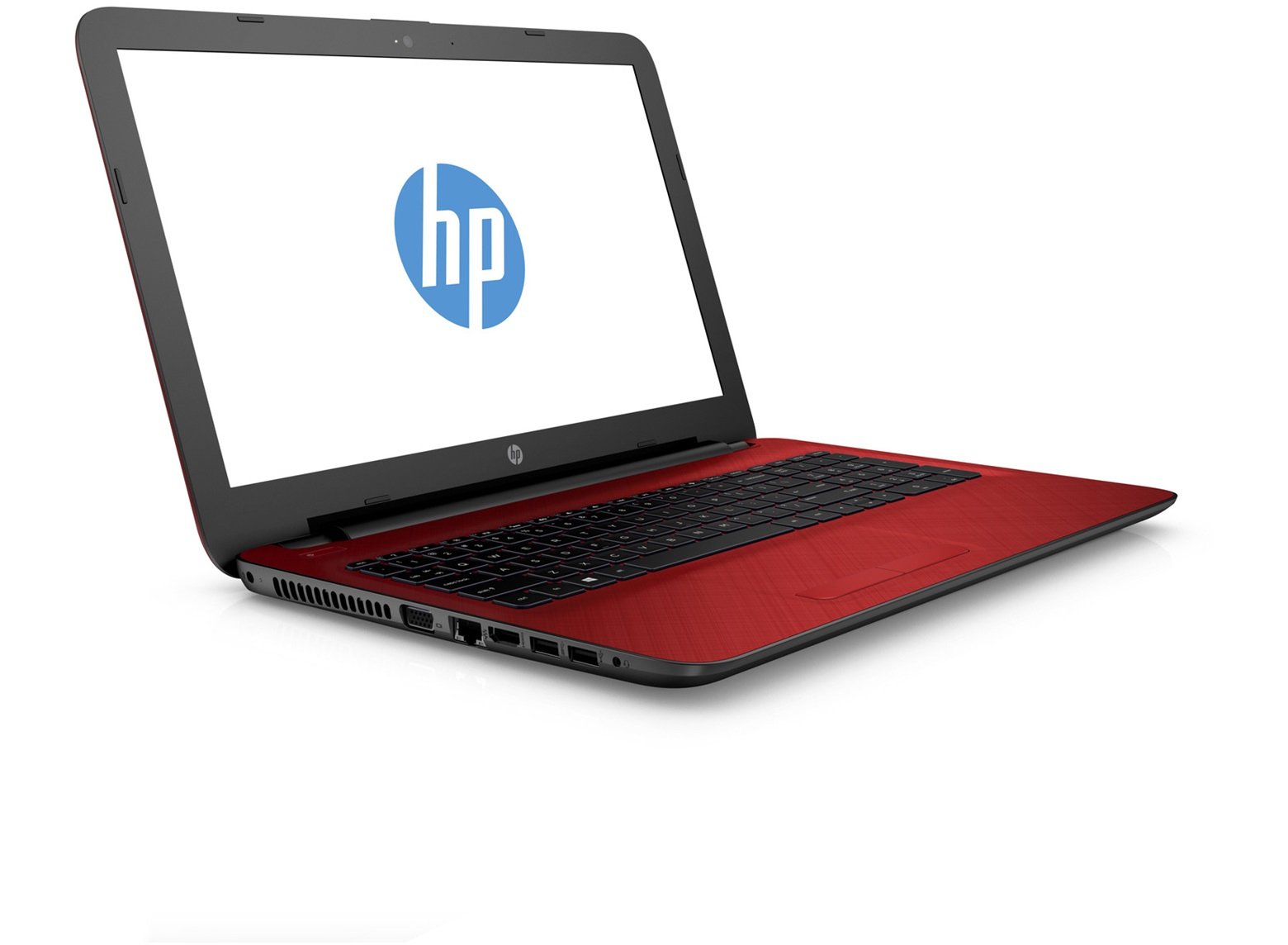"HP 15-ac141ns 1.7GHz i5-4210U 15.6"" 1366 x 768Pixel Nero, Rosso Computer portatile"