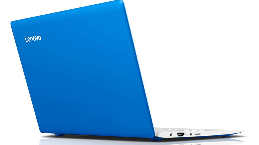 "Lenovo IdeaPad 100s 11 1.33GHz Z3735F 11.6"" 1366 x 768Pixel Blu, Bianco Computer portatile"