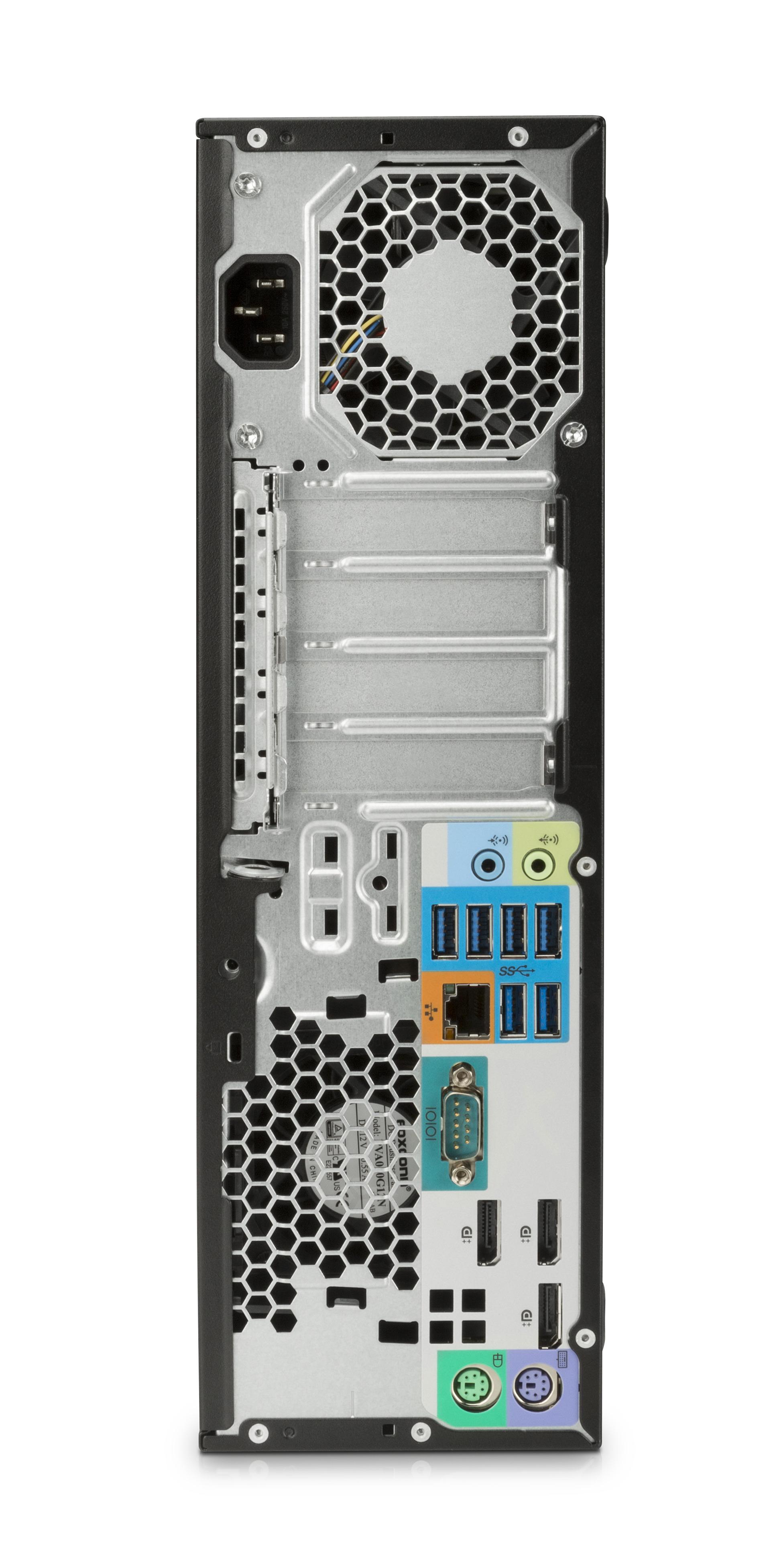 HP Z240 3.6GHz E3-1270V5 SFF Nero Stazione di lavoro