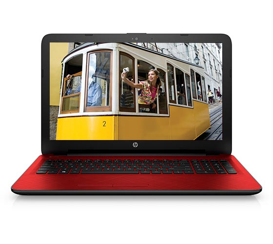 "HP 15-ac133ns 2GHz i3-5005U 15.6"" 1366 x 768Pixel Rosso Computer portatile"