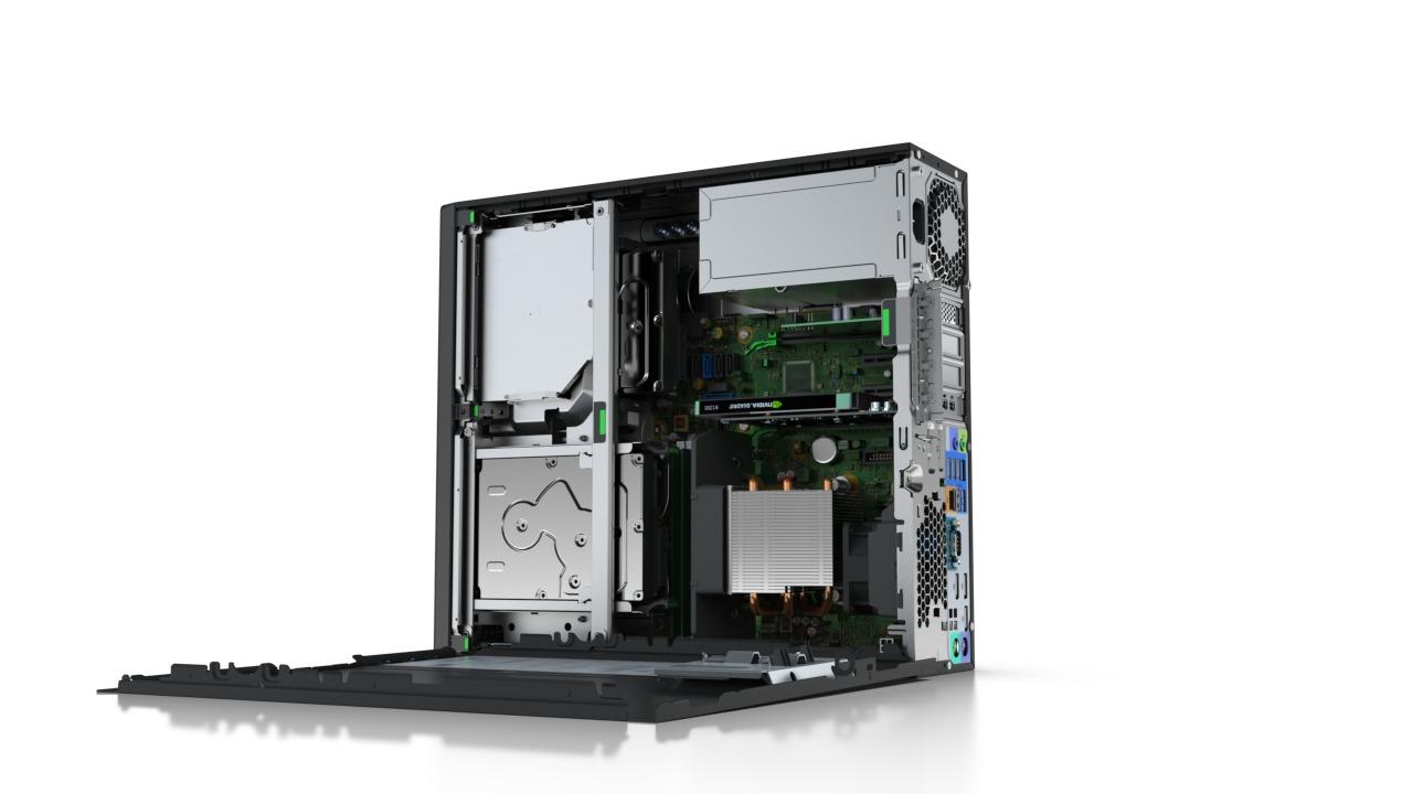 HP Z240 SFF + NVIDIA Quadro K420 3.2GHz i5-6500 SFF Nero Stazione di lavoro