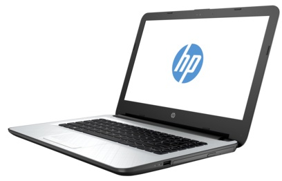 """HP 14-AC107NL 1.6GHz N3050 14"""" 1366 x 768Pixel Argento Computer portatile"""