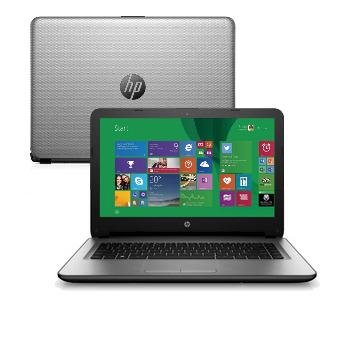 "HP 14-ac121br 2.5GHz i7-6500U 14"" 1366 x 768Pixel Nero, Grigio Computer portatile"