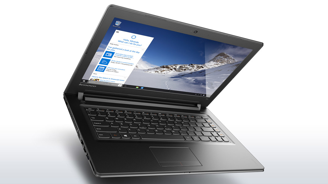 "Lenovo IdeaPad 300 14 2.5GHz i7-6500U 14"" 1366 x 768Pixel Nero Computer portatile"