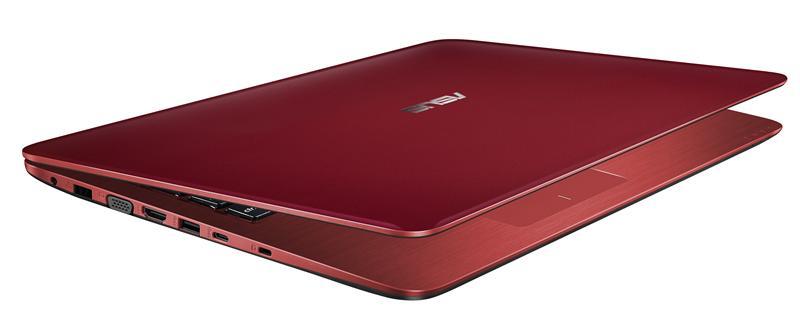 "ASUS A556UF-XX052T 2.3GHz i5-6200U 15.6"" 1366 x 768Pixel Rosso Computer portatile notebook/portatile"