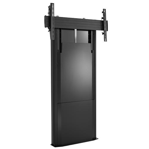 Chief LFD1U Fixed flat panel floor stand Nero base da pavimento per tv a schermo piatto