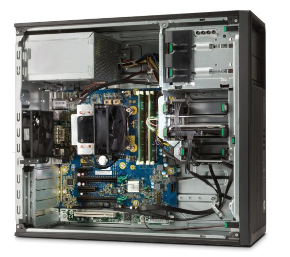 HP Z240 MT + NVIDIA Quadro M2000 + 2x Z23n 3.5GHz E3-1245V5 Mini Tower Nero Stazione di lavoro
