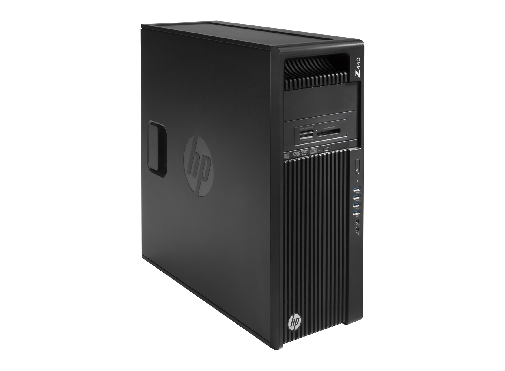 HP 440 MT + NVIDIA Quadro M4000 + 1TB SATA 6Gb/s 7200 HDD 3.5GHz E5-1620V4 Mini Tower Nero Stazione di lavoro