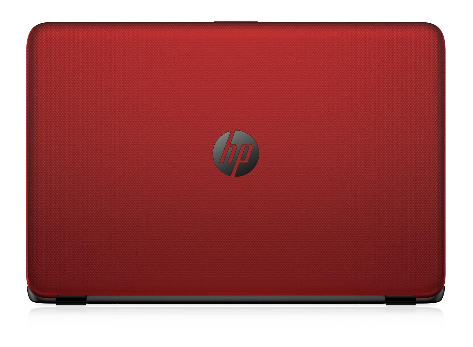 "HP 15-ac144nb 1.6GHz N3050 15.6"" 1366 x 768Pixel Rosso Computer portatile"
