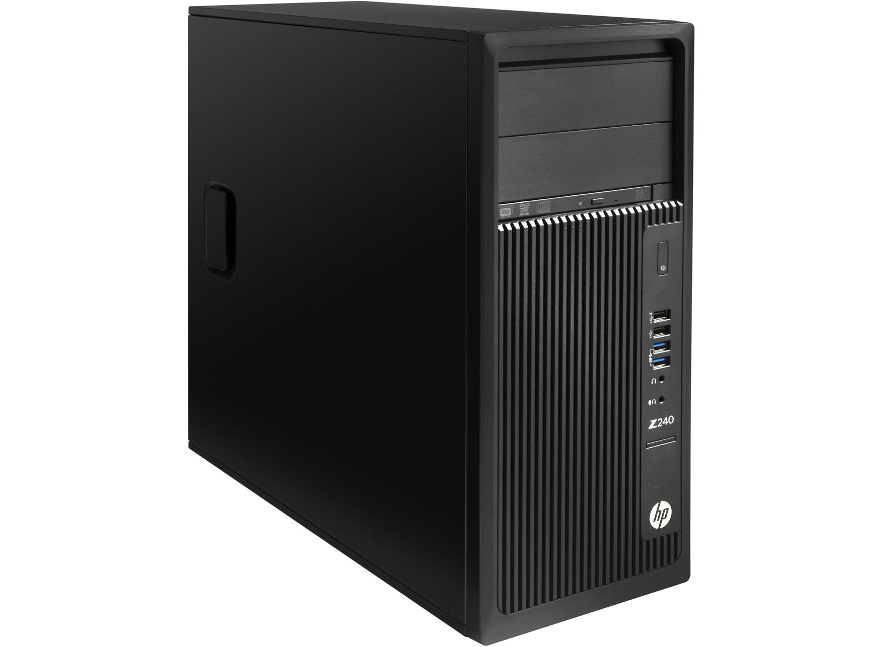 HP Z240 3.5GHz E3-1245V5 Torre Nero Stazione di lavoro