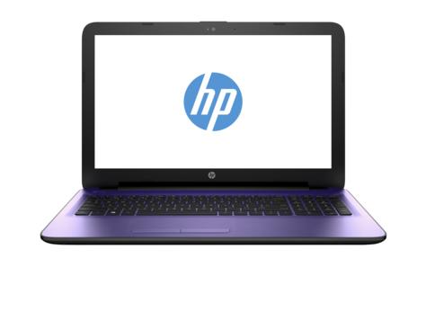 "HP 15-ac141nb 1.6GHz N3050 15.6"" 1366 x 768Pixel Porpora Computer portatile"