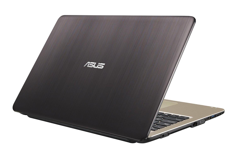 "ASUS F540LA 1.6GHz N3050 15.6"" 1366 x 768Pixel Nero, Oro Computer portatile"