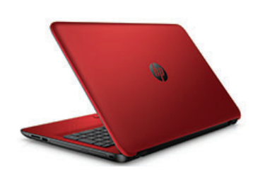 """HP 15-ac140nf 2GHz i3-5005U 15.6"""" 1366 x 768Pixel Nero, Rosso Computer portatile"""