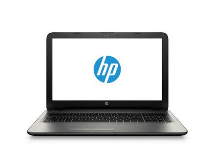 "HP 15-ac130nia 1.6GHz N3050 15.6"" 1366 x 768Pixel Nero, Argento Computer portatile"