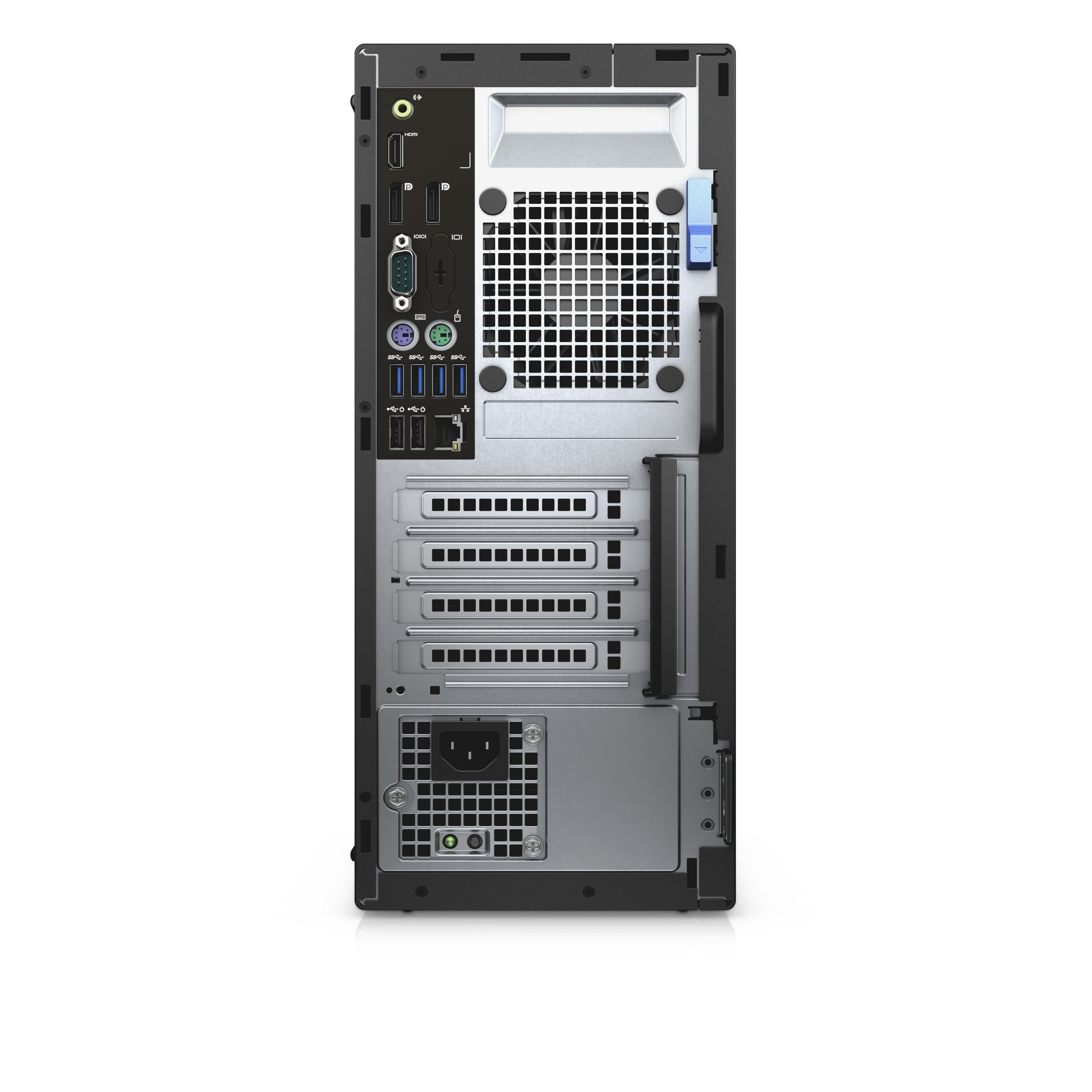 DELL OptiPlex 5040 MT + P2416D 3.2GHz i5-6500 Mini Tower Nero PC