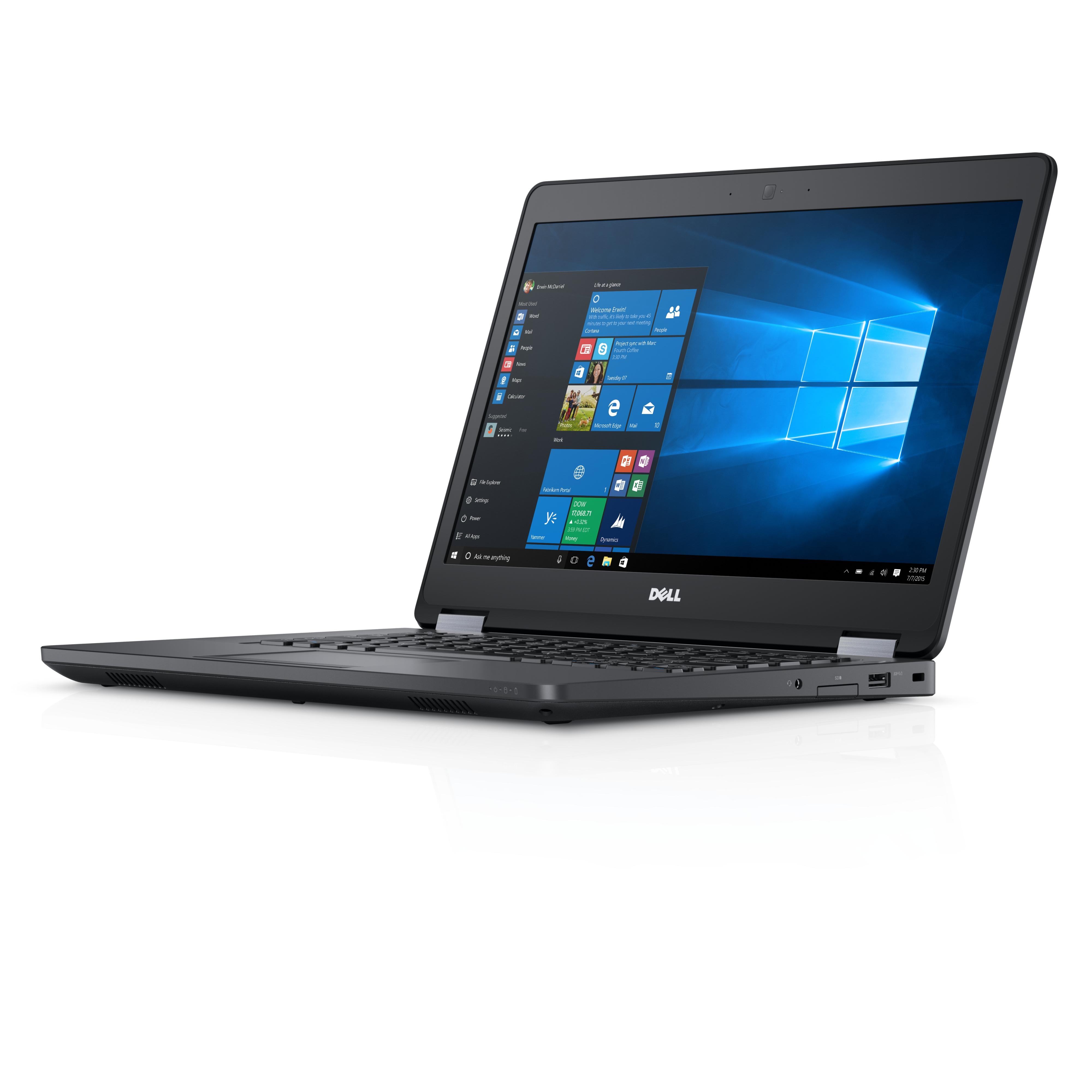 """DELL Latitude 14 2.6GHz i5-6440HQ 14"""" 1920 x 1080Pixel 3G 4G Nero Computer portatile"""