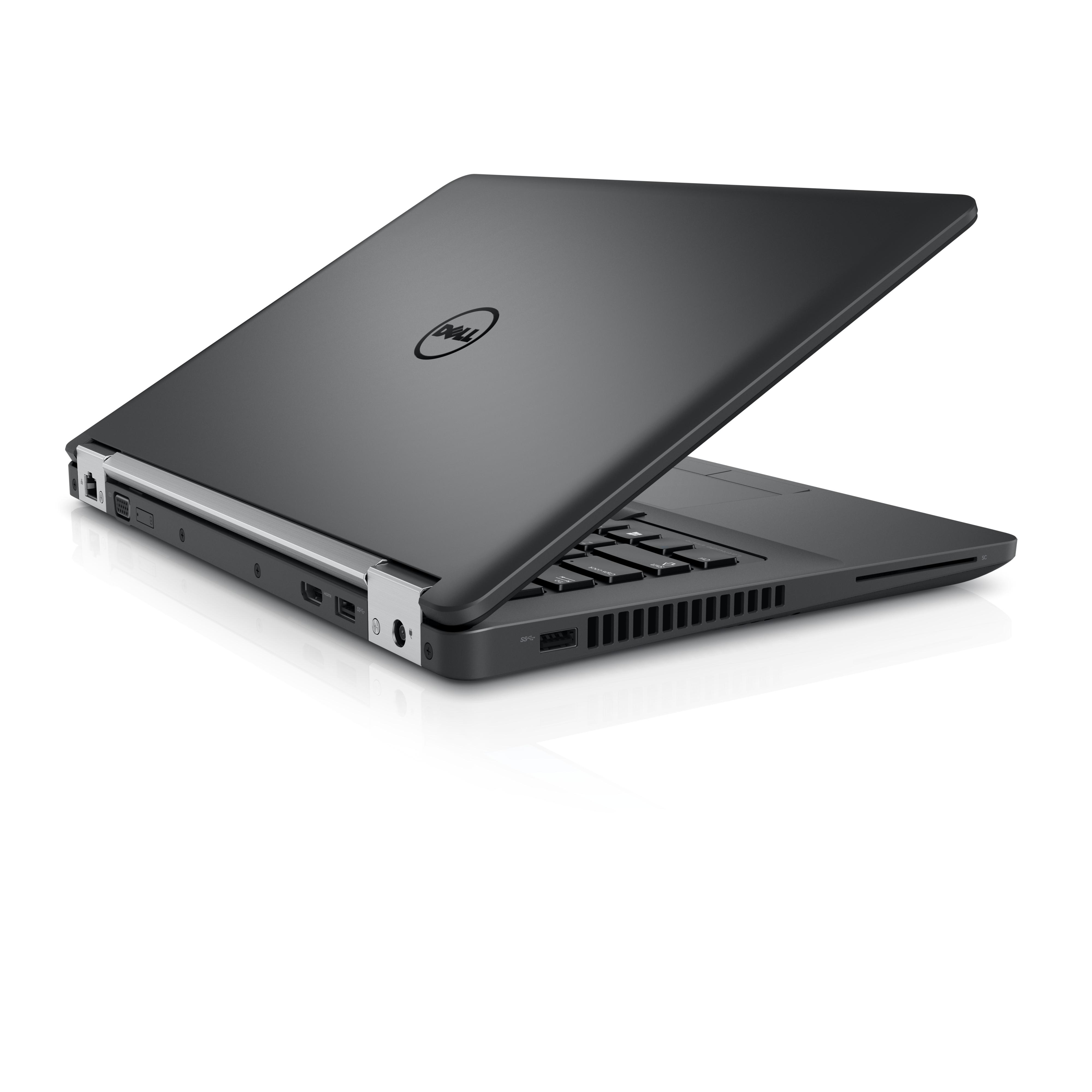 """DELL Latitude 14 2.3GHz i5-6200U 14"""" 1920 x 1080Pixel Nero Computer portatile"""
