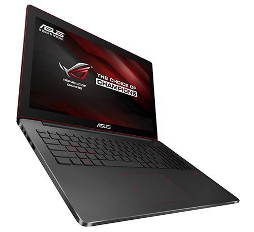 "ASUS ROG G501JW-FI407R 2GHz i7-4750HQ 15.6"" 3840 x 2160Pixel Nero Computer portatile"