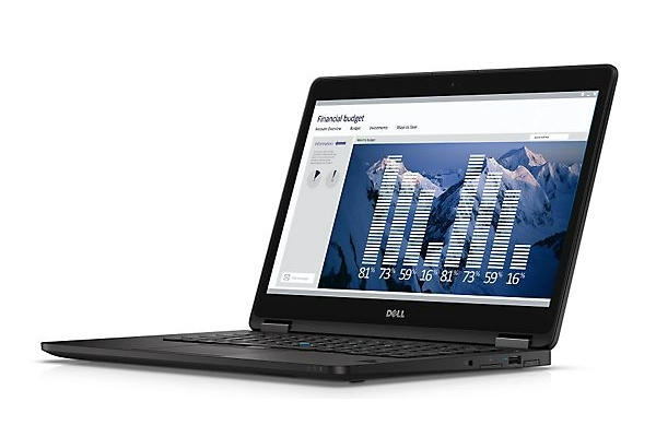 "DELL Latitude 14 2.6GHz i7-6600U 14"" 2560 x 1440Pixel Touch screen Nero Ultrabook"