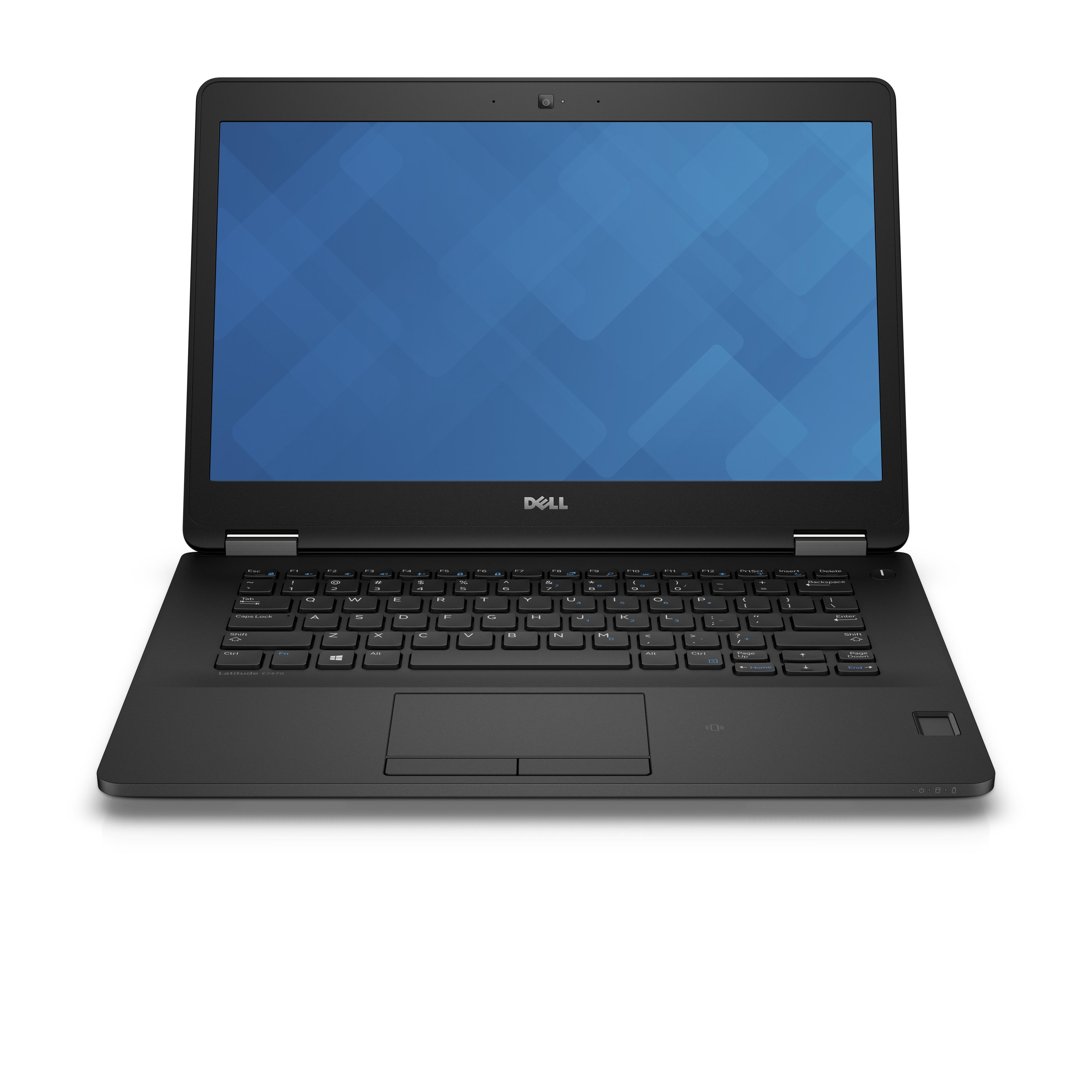 """DELL Latitude 14 2.20GHz i7-6650U 14"""" 1366 x 768Pixel Nero Computer portatile"""