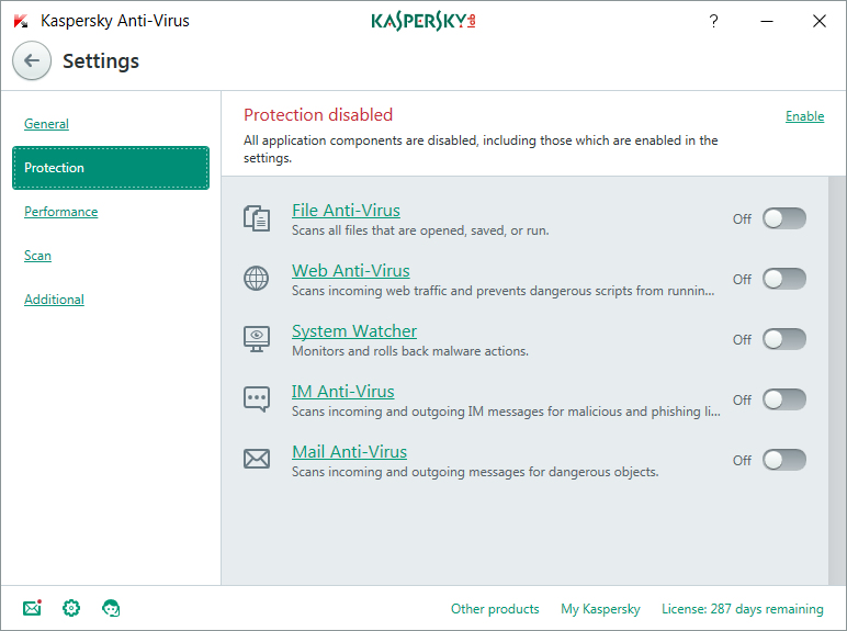 Kaspersky Lab Anti-Virus 2016 Base license 10utente(i) 3anno/i ESP