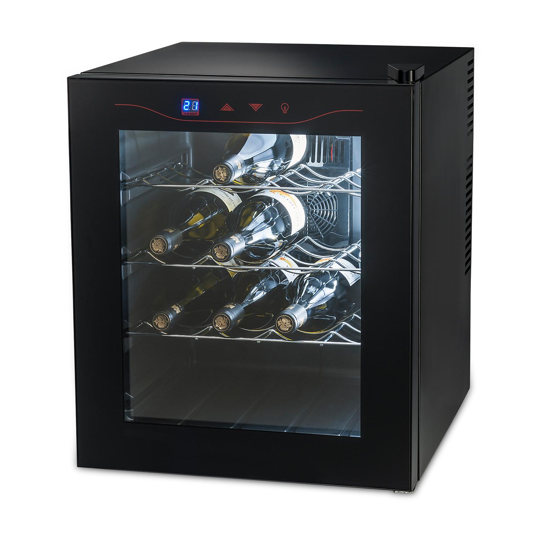 MEDION MD 15803 Libera installazione Cantinetta termoelettrica Nero A