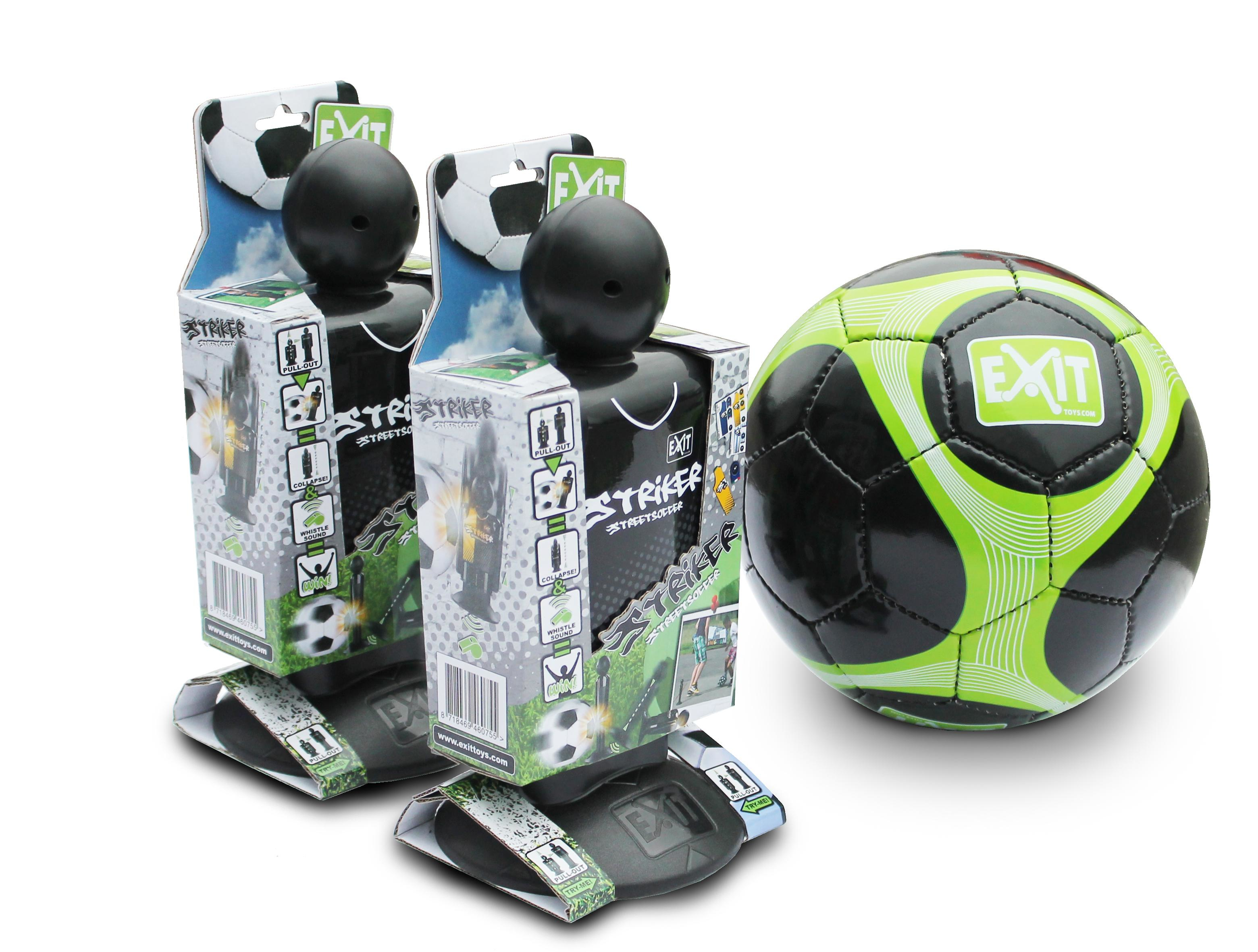 EXIT Striker Streetsoccer - Set of 2 + Ball Attaccante per calcio da strada