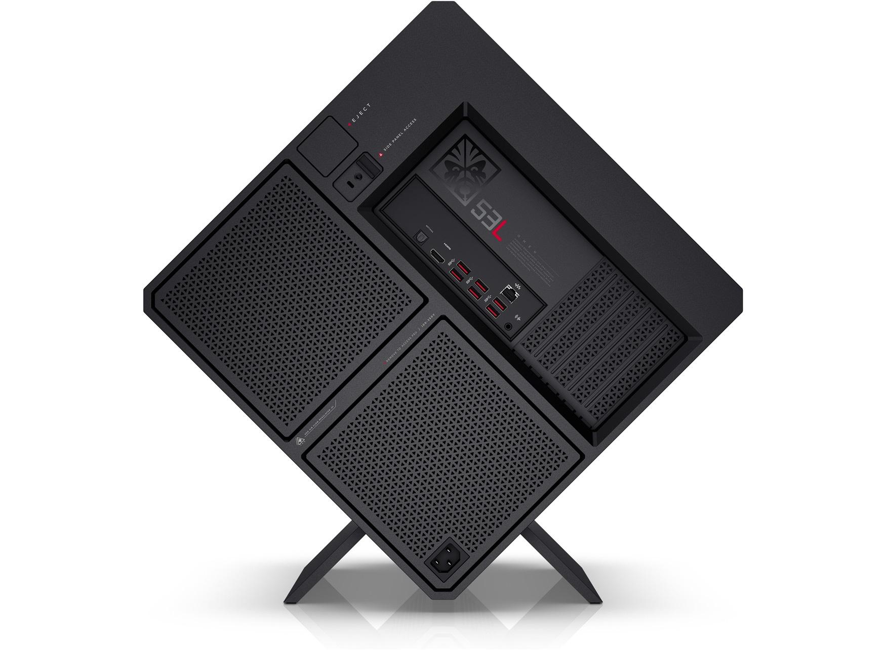 HP OMEN 900-001ns 4GHz i7-6700K Scrivania Nero, Rosso PC